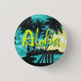 Aloha Aqua Sunset Pin