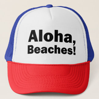 Aloha, Beaches funny hat