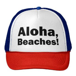 Aloha, Beaches funny hat