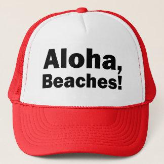 Aloha Beaches funny trucker hat