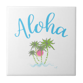 Aloha Beaches Hawaiian Style Summer Tile