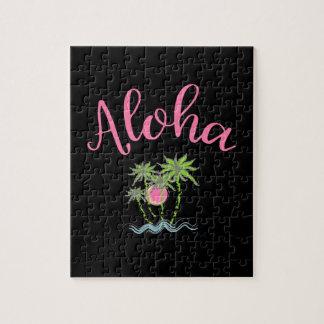 Aloha Beaches Hawaiian Style Summera Jigsaw Puzzle
