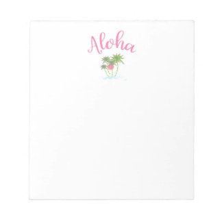 Aloha Beaches Hawaiian Style Summera Notepad