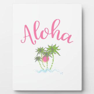 Aloha Beaches Hawaiian Style Summera Plaque