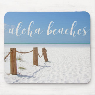 Aloha Beaches Mouse Pad