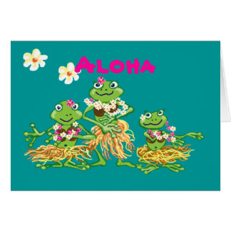 Aloha - Birthday card