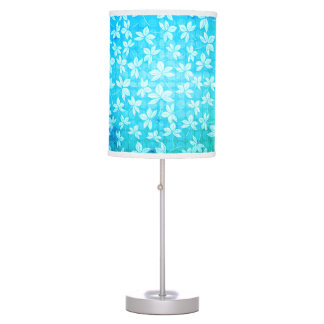 Aloha Blue Leaf Desk Lamps