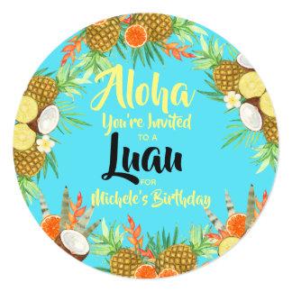 Aloha! Bright Fun Luau Card