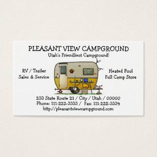 Aloha Camper Trailer Business Card