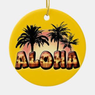 Aloha Ceramic Ornament