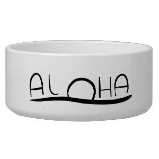 Aloha Doggie Dish Pet Bowls