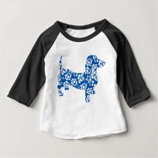 Aloha-Doxie-Blue Baby T-Shirt