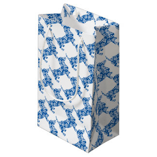 Aloha-Doxie-Blue Small Gift Bag