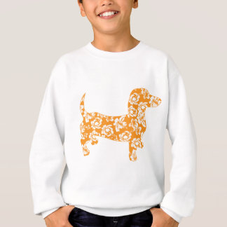 Aloha-Doxie-Orange Sweatshirt