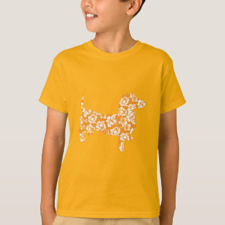 Aloha-Doxie-Orange T-Shirt