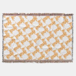 Aloha-Doxie-Orange Throw Blanket