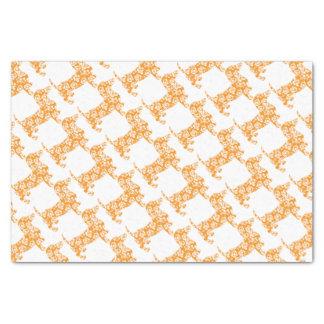 Aloha-Doxie-Orange Tissue Paper