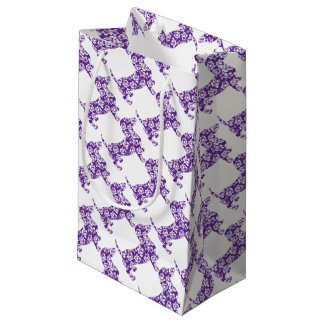 Aloha-Doxie-Purple Small Gift Bag