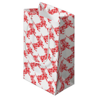 Aloha-Doxie-Red Small Gift Bag