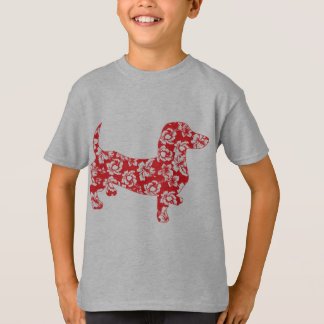Aloha-Doxie-Red T-Shirt