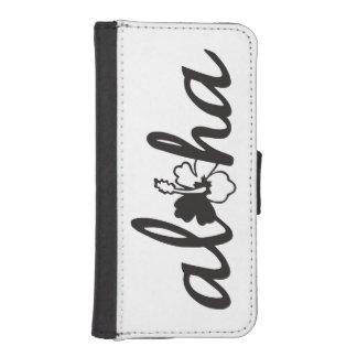 Aloha Flower iPhone SE/5/5s Wallet Case