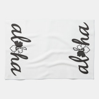 Aloha Flower Kitchen Towel