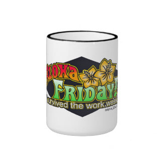 Aloha Friday Mug - Designs by BadTuna