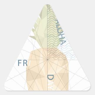 Aloha Friday Triangle Sticker