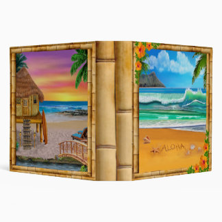 ALOHA FROM HAWAII 3 RING BINDERS