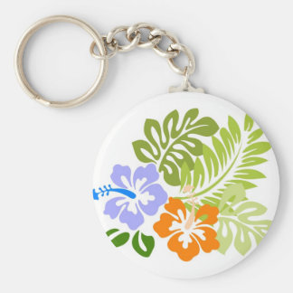 Aloha from Hawaii Basic Round Button Keychain