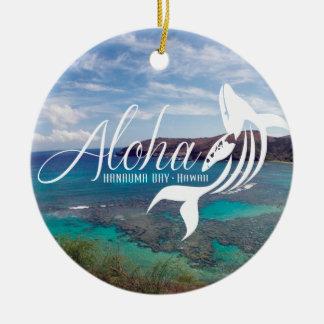 Aloha from Hawaii Ceramic Ornament