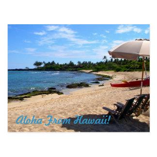"""Aloha from Hawaii!"" Postcard"
