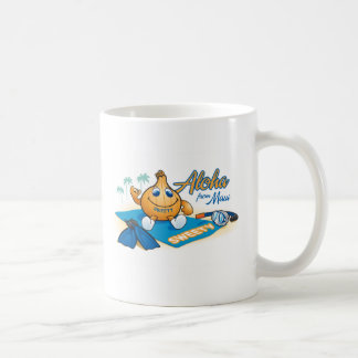 Aloha from sweety onion coffee mug