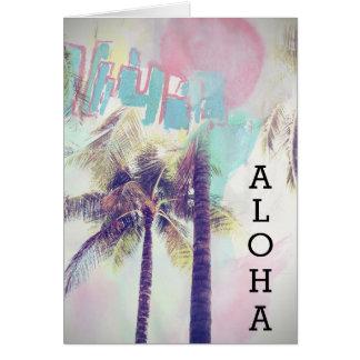 Aloha Greetings Card