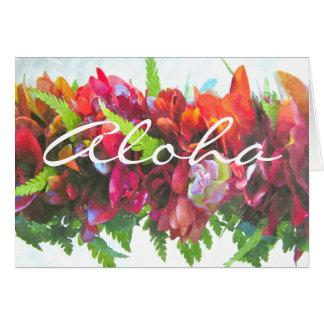 Aloha Haku Card