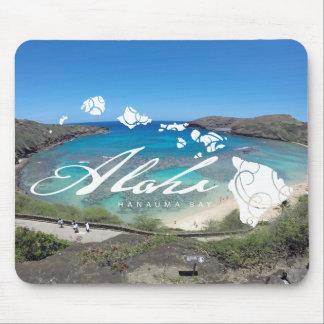 Aloha Hanauma Bay Hawaii Islands Mouse Pad