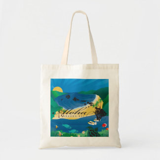 Aloha Hanauma Bay Hawaii Islands Tote Bag