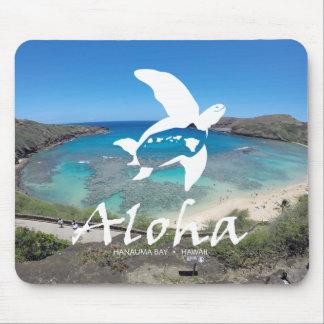 Aloha Hanauma Bay Hawaii Mouse Pad