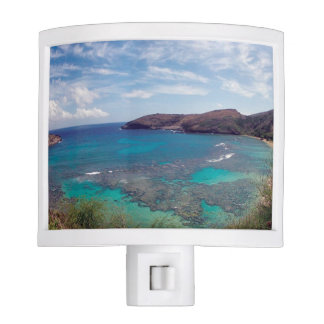 Aloha Hanauma Bay Hawaii Night Lights