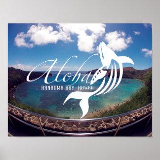 Aloha Hanauma Bay Hawaii Print