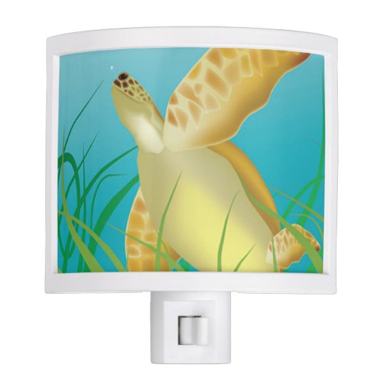 Aloha Hanauma Bay Hawaii Turtle Night Light
