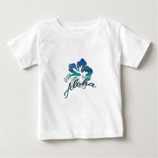 Aloha Hawaii Hibiscus Flower Baby T-Shirt