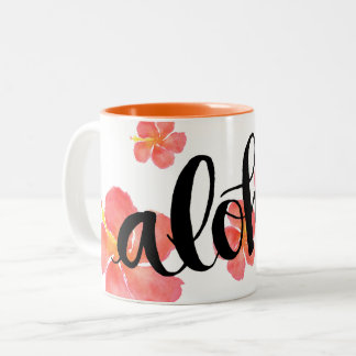 Aloha Hawaii Hibiscus Mug