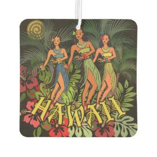 Aloha Hawaii Hula Dance Art Print Air Freshener
