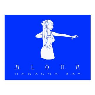 Aloha Hawaii Hula Dancer Postcard