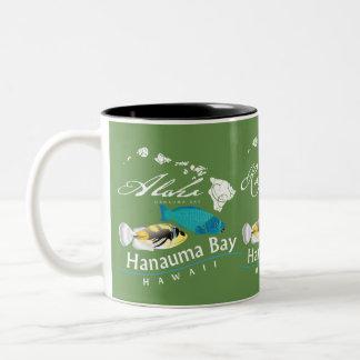 Aloha Hawaii Humuhumunukunukuapua'a Two-Tone Coffee Mug