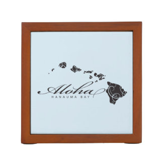 Aloha Hawaii Islands Desk Organizer