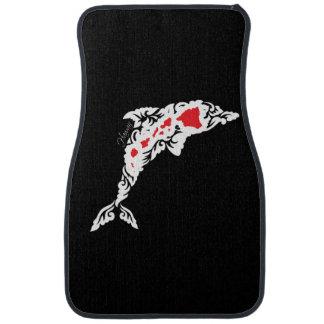 Aloha Hawaii Islands Dolphin Car Mat