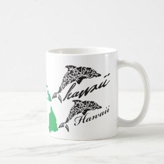 Aloha Hawaii Islands Dolphins Coffee Mug