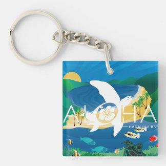 Aloha Hawaii Islands Keychain